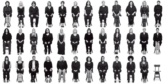 35 Cosby Accusers